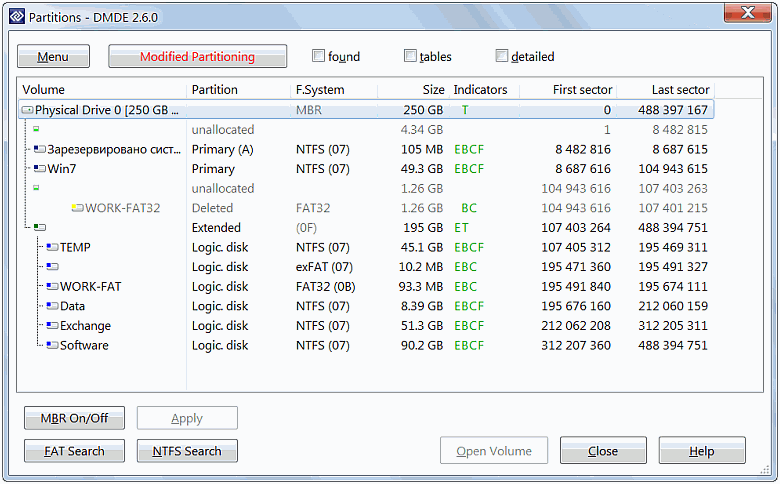 Full DMDE screenshot